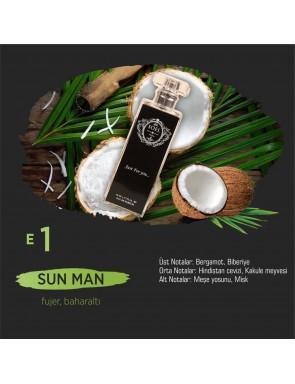 SOEL E1 Erkek Parfüm 50ml EDP