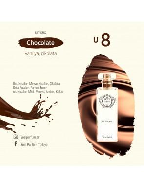 SOEL U8 Unisex Parfüm 50ml EDP