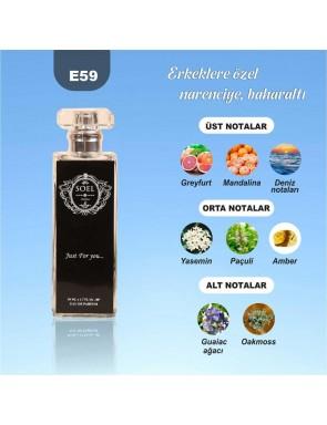 SOEL E59 Erkek Parfüm 50ml EDP