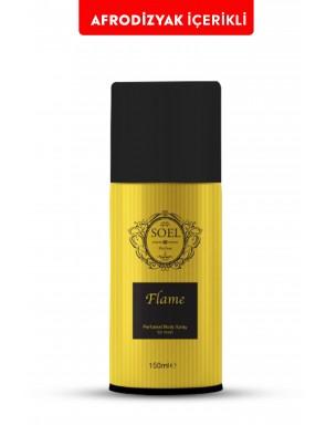 Flame Erkek  Deodorant 150 ml Afrodizyak İçerikli