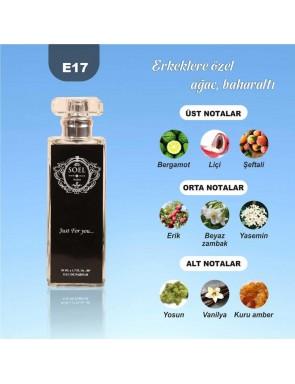 SOEL E17 Erkek Parfüm 50ml EDP