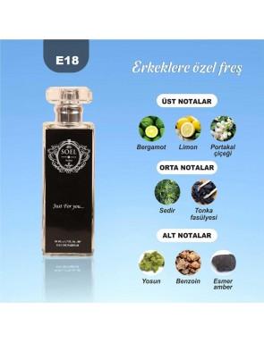 SOEL E18 Erkek Parfüm 50ml EDP
