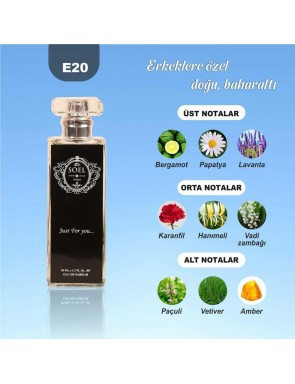 SOEL E20 Erkek Parfüm 50ml EDP