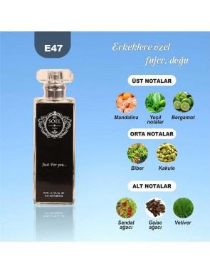 SOEL E47 Erkek Parfüm 50ml EDP
