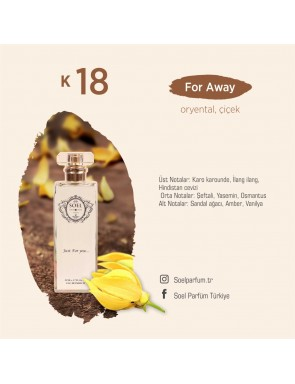 SOEL K18 Bayan Parfüm 50ml EDP