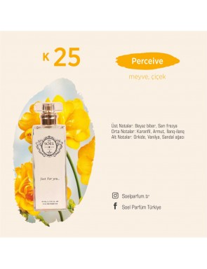 SOEL K25 Bayan Parfüm 50ml EDP