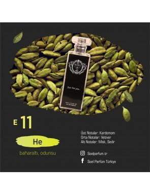 SOEL E11 Erkek Parfüm 50ml EDP