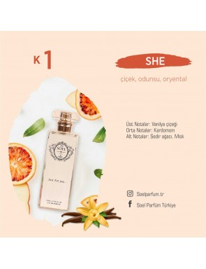 SOEL K1 Bayan Parfüm 50ml EDP
