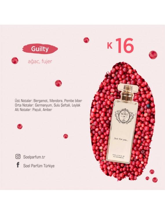 SOEL K16 Bayan Parfüm 50ml EDP