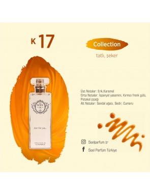 SOEL K17 Bayan Parfüm 50ml EDP