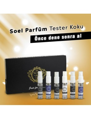 Bayan Tester Parfümlerimiz 5'li kutu Rana , Buta , Troya , Mega Lux, Masestic